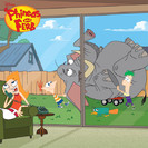 Phineas and Ferb: The Monster of Phineas-n-Ferbenstein / Oil On Candace