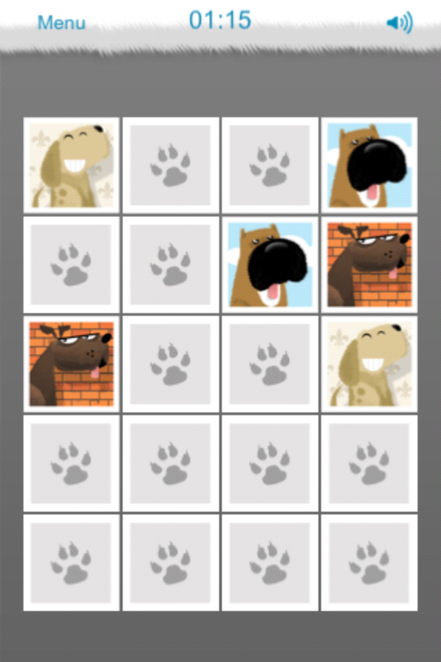 Screenshot Beatbox Memory Dogs